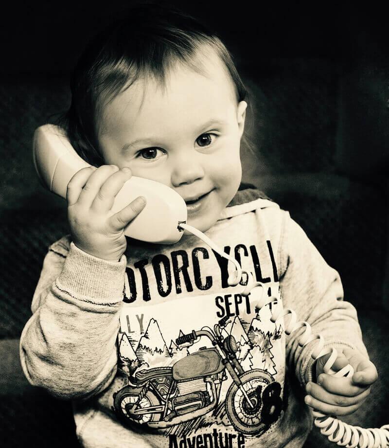 contact met babychart
